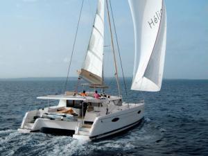 Catamaran Charter in Greece Helia 44