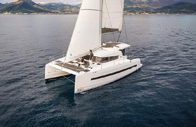 Bali 4 0 Catamaran Charter Croatia by Globe Yacht Charter Featured image