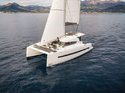 Bali 4 0 Catamaran Charter Greece By Globe Yacht Charter Featured Image