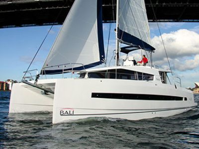 Bali 4 3 Catamaran Charter Greece Bareboat Skippered By Globe Yacht Charter Featured Image