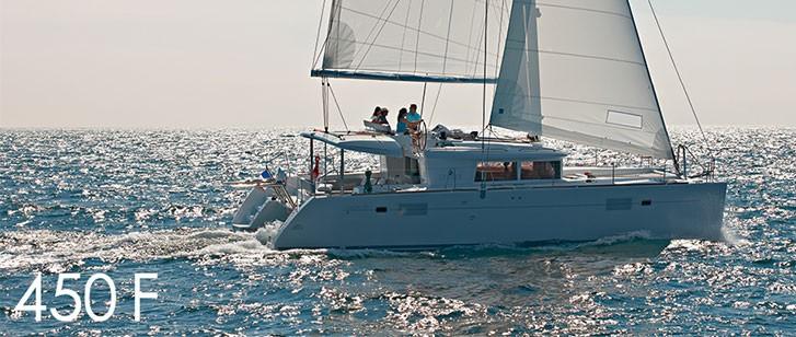 Lagoon 450 F Catamaran Charter Croatia Main Image