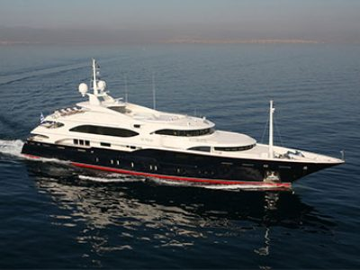 Sunday Luxury Mega Yacht Greece By Globe Yacht Charter Featured Image