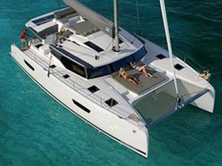 Fountaine Pajot 47 Quintet 1b