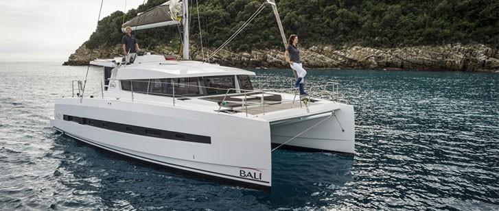 Bali 4 0 Catamaran Charter Greece By Globe Yacht Charter Main Image