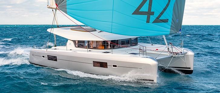 Lagoon 42 Catamaran Charter Greece Bareboat Skippered By Globe Yacht Charter Main Image