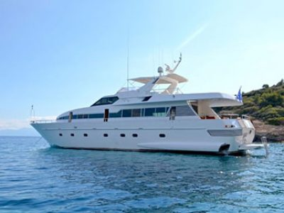 My Way Motor Yacht Charter Greece By Globe Yacht Charter Featured Image