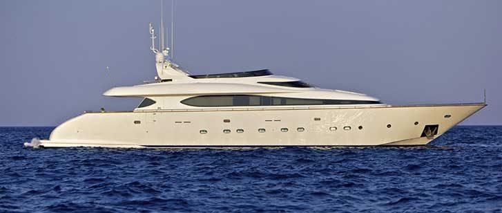 Marnaya Luxury Yacht Charter Greece Mediterranean Main Image